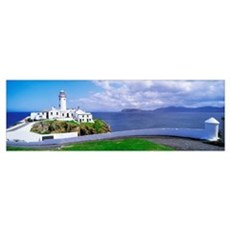 Fanad Head Lighthouse, County Donegal, Ireland Poster