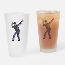 Baseball Umpire Out Drinking Glass