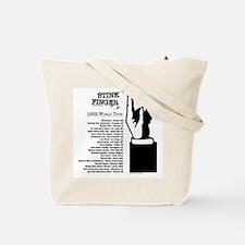 Stink Finger Tote Bag