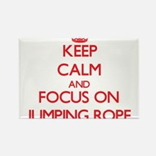 Keep Calm and focus on Jumping Rope Magnets