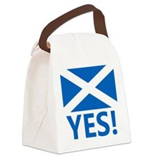 Scotland-YES Canvas Lunch Bag