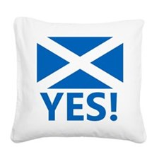 Scotland-YES Square Canvas Pillow