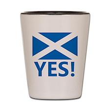 Scotland-YES Shot Glass