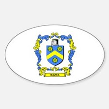 RAOUL Coat of Arms Oval Decal