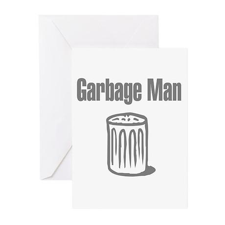 Garbage Man Greeting Cards (Pk of 10)