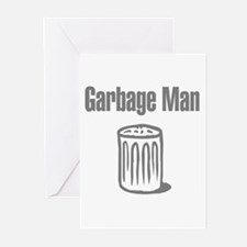 Garbage Man Greeting Cards (Pk of 10)