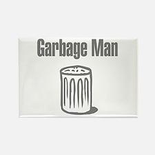 Garbage Man Rectangle Magnet