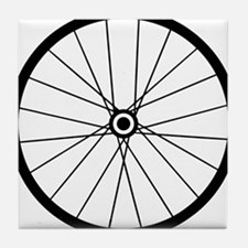 Cute Bicycles Tile Coaster