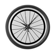 Funny Bicycle Large Wall Clock