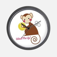 Wind Me Up! Wall Clock