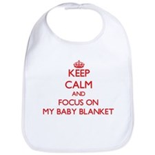 Funny Keep calm and crochet Bib