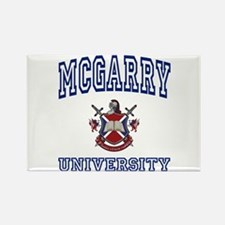 MCGARRY University Rectangle Magnet