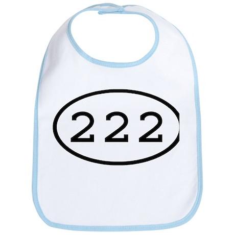 222 Oval Bib