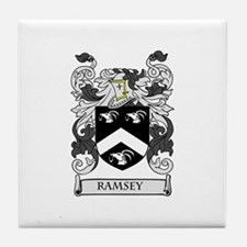 RAMSEY Coat of Arms Tile Coaster
