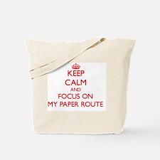 Cute Paper route Tote Bag