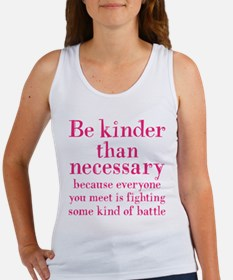 BE KINDER Women's Tank Top
