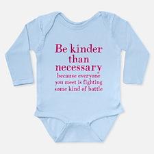 BE KINDER Long Sleeve Infant Bodysuit