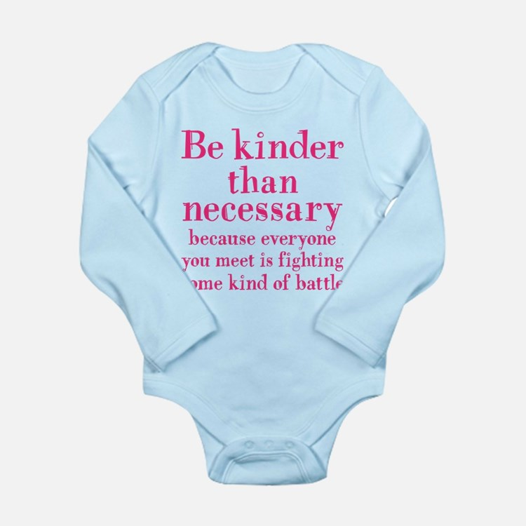 BE KINDER Long Sleeve Infant Bodysuit