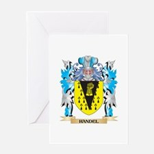Handel Coat of Arms - Family Crest Greeting Cards