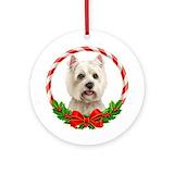 Westie christmas decorations Ornaments