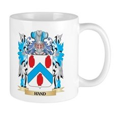 Hand Coat of Arms - Family Crest Mugs