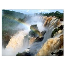 Brazil, Iguacu Falls Poster