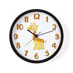 Giraffe Nursery Clock