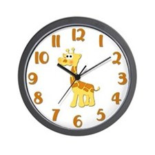 Giraffe Nursery Clock