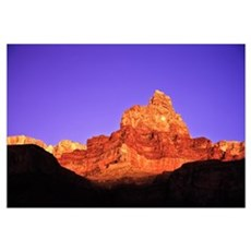 Grand Canyon At Sunset, Arizona Framed Print