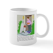 Halloween Trick Or Treating Ghost Mug Mugs