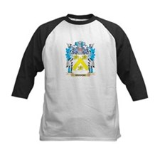 Hannah Coat of Arms - Family Crest Baseball Jersey