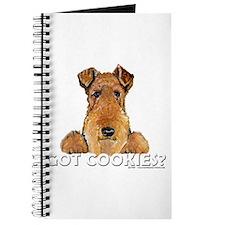 Welsh Terrier Cookies Journal
