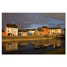 John's Quay and River Nore, Kilkenny City, County  Poster