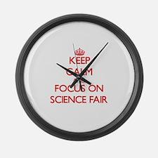 Unique Science fair Large Wall Clock
