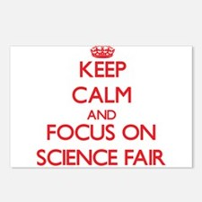 Cute Science fair Postcards (Package of 8)