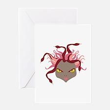 Medusa Greeting Cards
