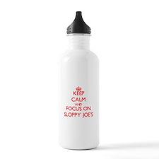 Cute Sloppy joe Water Bottle