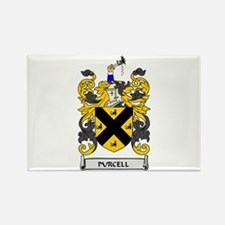 PURCELL Coat of Arms Rectangle Magnet