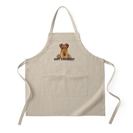 Welsh Terrier Cookies BBQ Apron
