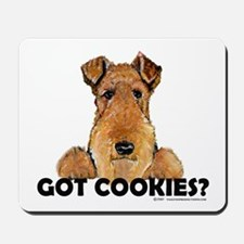 Welsh Terrier Cookies Mousepad