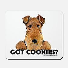 Welsh Terrier Cookies Mousepad