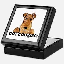 Welsh Terrier Cookies Keepsake Box