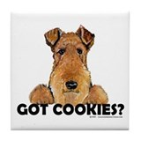 Airedale terrier Drink Coasters