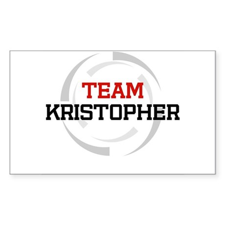 Kristopher Rectangle Sticker
