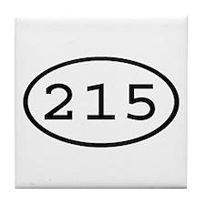 215 Oval Tile Coaster