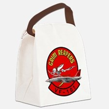 Cute Grim reapers Canvas Lunch Bag