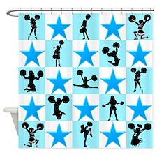 CHEERING STAR Shower Curtain