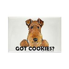 Welsh Terrier Cookies Rectangle Magnet