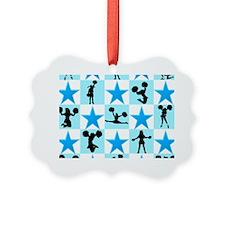 CHEERING STAR Ornament