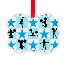 CHEERING STAR Picture Ornament